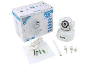 Tenvis JPT3815W IP Camera Wireless PanTilt WIFI 2-Way Audio Webcam iPhone Android CCTV - Indoor, Night Version