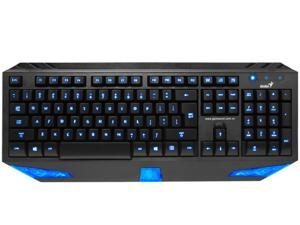 Ergonomic LED Backlit Gaming USB Keyboard PC