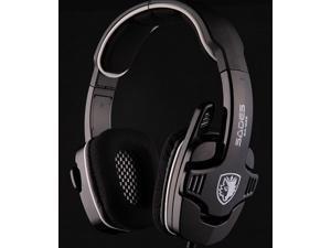 Sades SA-922 USB Gaming Headset Headphone with Microphone + Volume Control for PC Laptop Mac, Playstation 4/ PS4, PS3&#59; Xbox ...