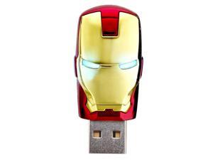 8GB USB 2.0 Memory Stick Flash Pen Drive - Iron Man Model