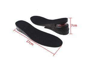 Men Shoe Insole 3-Layer Air Cushion Heel insert Increase Taller Height