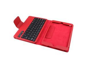 AGPtek® Removable wireless Bluetooth 3.0 ABS Keyboard w/ Protective Case for Apple iPad Mini
