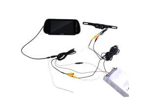 """Car Rearview System - 7"""" -inch Security LCD Wide Screen Car Rear View Backup Parking Mirror Monitor + Camera"""