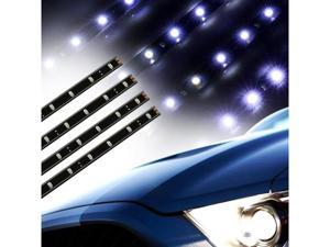 Waterproof 12V 30cm Car Auto Decorative Flexible LED Motors Truck Strip-White
