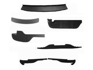 99-06 & 00-06 Silverado/Sierra  All Models  & Suburban/Tahoe/Yukon Step Bp Lower/Center Rear Step Bumper Pad Black 1pc