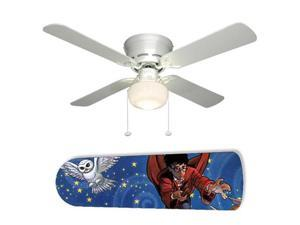 "Harry Potter Wizard 42"" Ceiling Fan with Lamp"