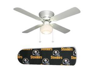 "Pittsburgh Steelers 42"" Ceiling Fan with Lamp"