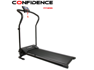 Confidence Power Plus Motorized Electric Treadmill WHITE
