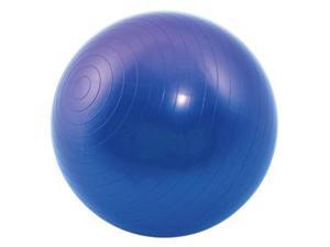 "New Fitness Exercise Stability Ball 25"" Yoga Pilates Anti-Burst 3-Piece Set Blue"