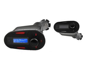 MP3/Wireless FM Transmitter/Charger, Supports USB/ SD/ MMC with LCD & Remote Car Kit