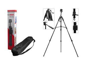 Kocaso Digital/Video/Photo Camera 57 Inch Compact Tripod w/ Rubber Feet