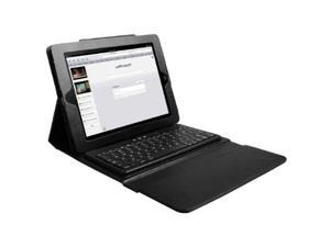 iMounTek Snap-On Swivel Leather Case Cover Stand with Built-in Bluetooth Keyboard iPad 2/3