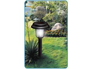 New Solar Lawn Garden Outdoor Bug Insect Zapper UV LED Super Bright Light
