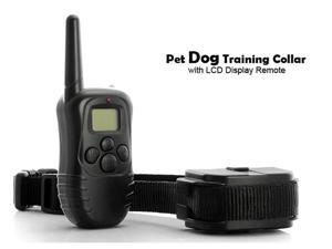 GPCT 251 Pet Dog Remote Training Collar System with LCD Display Remote & 300 meter range
