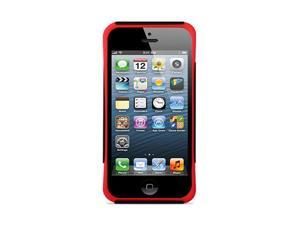 GPCT New Apple iPhone 5 Hard Hybrid Case Cover Rubberized Silicone Black