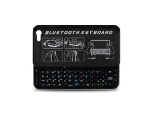 Ultra-thin Slide-out Wireless Keyboard w/ Backlight for iPhone 5