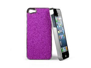 GPCT Flash powder and Plating stick a skin cover case for iphone 5 Purple