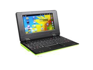 Green Kocaso NB726A 4GB Android 4.0 1GB RAM 1.2Ghz WiFi Mini Netbook Notebook Laptop with Bag and Mouse
