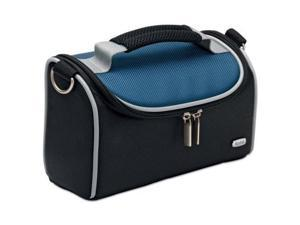 "Kodak Medium V2 Camera Bag - 4.5"" x 8.7"" x 3.4"" - Nylon, Vinyl (Cobalt Blue)"