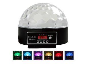 Digital LED RGB Crystal Ball Effect Light DMX512 Disco DJ Stage Lighting for Disco, Ballroom, KTV, Bar, Stage, Club, Party ...