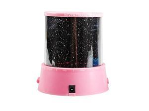 GPCT Amazing LED Star Master Light Lighting Projector Lamp - Project On The Walls And Ceiling (Pink)