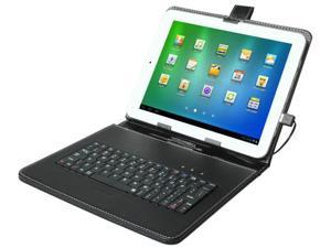 "Brand New! Generic USB Keyboard & Leather Case Pouch Cover for 9.7 "" Tablet MID ePad aPad PC w/ USB Keyboard and Stylus Pen"