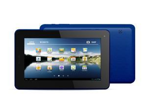 "Kocaso M756 7"" Android 4.0 Tablet - Dual Camera, 1.2GHz, 8GB, Supports 2G GSM SIM Card (Blue)"