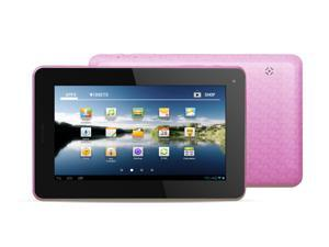"Kocaso M756 7"" Android 4.0 Tablet - Dual Camera, 1.2GHz, 8GB, Supports 2G GSM SIM Card (Pink)"