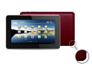 "Kocaso M756 7"" Android 4.0 Tablet - Dual Camera, 1.2GHz, 8GB, Supports 2G GSM SIM Card (Red)"