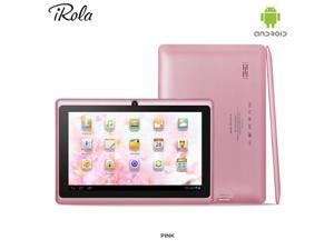 "MID DX752 7"" Android 4.2 Dual Camera Capacitive Touch Tablet PC 1.2Ghz WiFi - Pink"