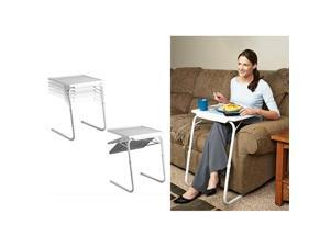 GPCT 18-in-1 Smart Table Mate Portable Foldable Tray with Steel Base