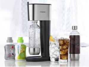 SodaStream Pure Sparkling Water & Soda Maker, Black