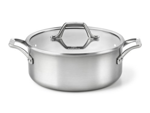 Calphalon 5-qt. Stainless Steel AccuCore Dutch Oven