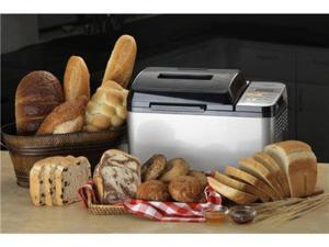 Zojirushi 2-lb. Stainless Steel Home Bakery Virtuoso Breadmaker