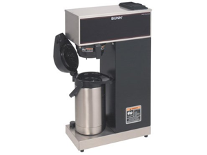 VPR-APS Pourover Thermal Coffee Brewer with 2.2L Airpot Stainless Steel Black
