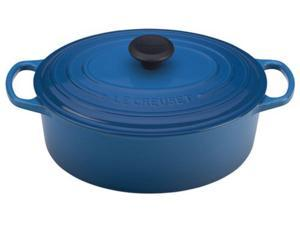 Le Creuset 5-qt. Oval Cast-Iron Signature Enameled French Oven, Marseille