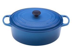 Le Creuset 9.5-qt. Oval Cast-Iron Signature Enameled French Oven, Marseille