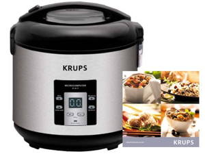 Krups 10-c. 4-in-1 Multi-Cooker