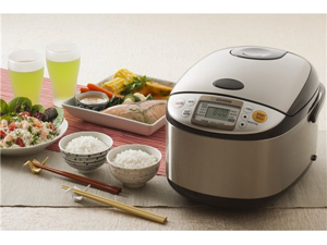 Zojirushi 10-c. Stainless Steel Micom Rice Cooker