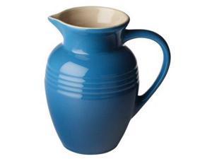 Le Creuset 2.25-Qt Stoneware Pitcher (Marseille Blue)