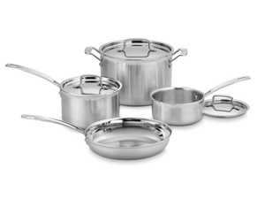 Cuisinart 7-pc. Stainless Steel MultiClad Pro Cookware Set