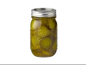 Ball® Regular Mouth 1 Pint (16-oz.) Regular Mouth Jars, Set of 12