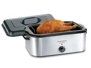 Hamilton Beach 22-qt. Electric Roaster Oven, Stainless