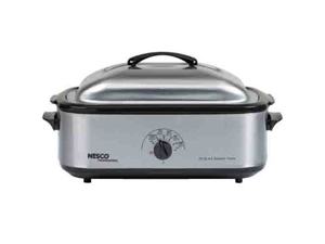 Nesco 4818-25-30PR Nesco 18 qt roaster stainless steelnon-stick