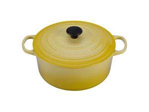 Le Creuset 7.25-qt. Round Cast-Iron Signature Enameled French Oven, Soleil