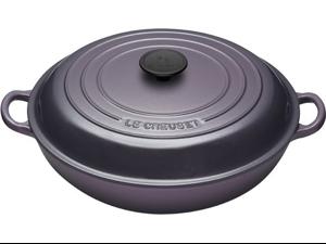 Le Creuset 3.5-qt. Signature Enamel Cast Iron Braiser, Cassis Purple