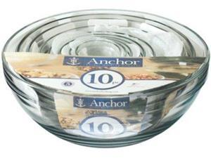 Anchor Hocking 10-pc. Mixing Bowl Set