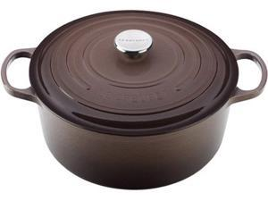 Le Creuset 7.25-qt. Round Cast-Iron Signature Enameled French Oven, Truffle
