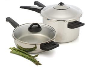 Kuhn Rikon 4-pc. Duo Pressure Cooker Set