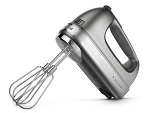 KitchenAid 9-Speed Hand Mixer, Contour Silver